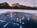 Jazero Abraham, Kanada