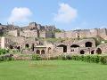 Pevnosť Golkonda v Indii