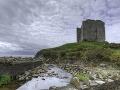 Hrad Minard v Írsku