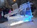 Socha z ľadu ruského