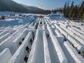 Snežný labyrint, Zakopané, Poľsko