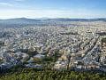Výhľad z vrchu Likavitos,