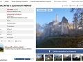 Sklabinský hrad je na