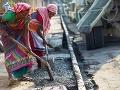 Indické robotníčky pri práci