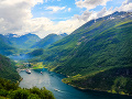 Fjord Geiranger, Nórsko