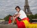 Rafael Nadal pózuje s