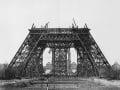 Výstavba Eiffelovej veže