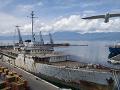 Titova loď Galeb, Chorvátsko