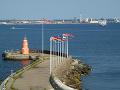 Úžina Öresund medzi Dánskom