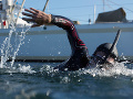 Plavec Ben Lecomte začal