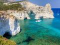 Ostrov Milos, Grécko