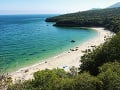 Pláž Galapos, Setubal, Portugalsko