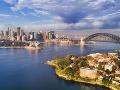 Prístavný most v Sydney,