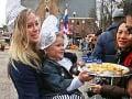 Syrový trh v Alkmaare