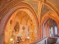 Interiér kostola v Štítniku