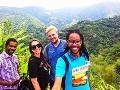 Slovenka Nita pozná Jamajku