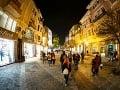 Ulička v Plovdive