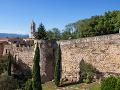 Mestské múry, Girona, Španielsko