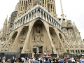 Sagrada Familia, Barcelona, Španielsko