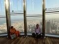 Pohľad z najvyššej budovy