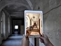 Virtuálna prehliadka neopravených priestorov