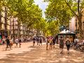 La Rambla, Barcelona, Španielsko