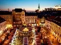 Vianočné trhy na Hlavnom