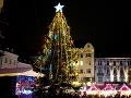 Vianočný strom na Hlavnom