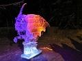 2. miesto: Ľadová socha