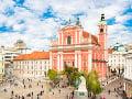 Prešernov trg, Ľubľana, Slovinsko