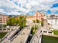 Trojitý most, Ľubľana, Slovinsko
