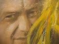 Na ilustračnej snímke autoportrét