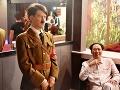 Voskové figuríny diktátorov Adolfa