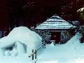 Rainerova chata v zime