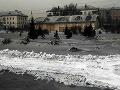 Sibír trápi čierny sneh