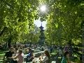 Mníchov: Park Englischer Garten
