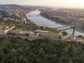 Citadela v maďarskej Budapešti