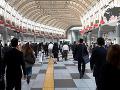 Stanica metra v japonskom