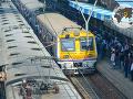 Vlak na stanici v