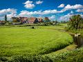 Tradičná holandská architektúra na