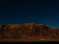 Nočná obloha nad Wadi