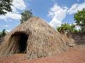 Typické obydlie v Burundi