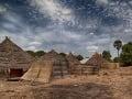 Tradičná dedina v Guinea-Bissau