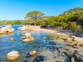 Pláž Tamaricciu na Korzike