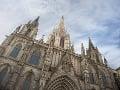 Barcelonská katedrála