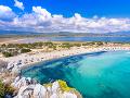 Pláž Voidokilia na Peloponéze