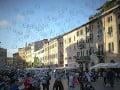 Pohľad na historické námestie