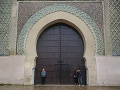 Pohľad na bránu Bab