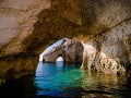 Zakynthos, morské jaskyne