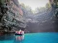 Kefalónia, jaskyňa Melissáni